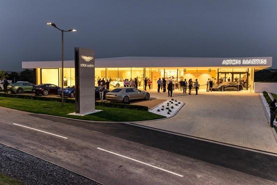 Gallery Dick Lovett Opens Aston Martin Bristol Showroom