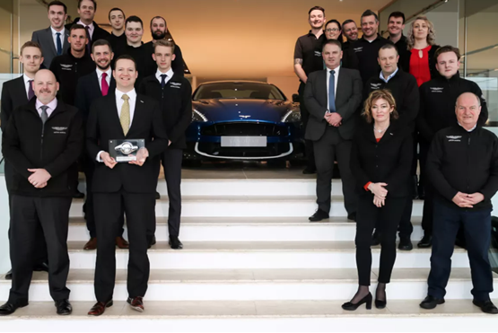 Leven Car Company Receives Number 1 Dealer In The World Award From