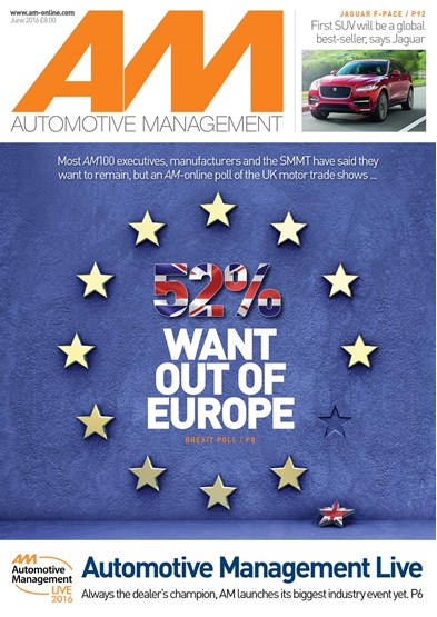 Automotive Management cover June 2016