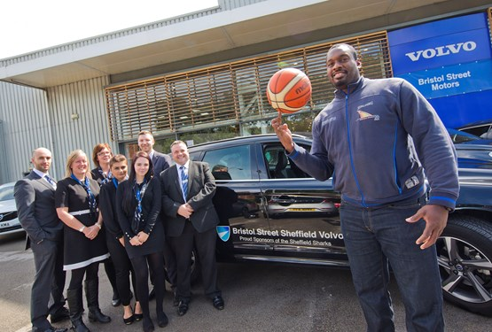 Bristol Street Motors Supports Sheffield Sharks Basketball