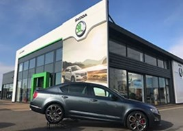 Johnsons Cars' new Liverpool Skoda facility