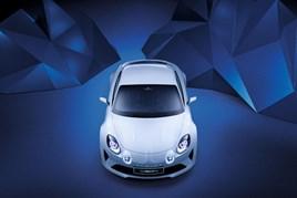 The Alpine Vision show car