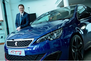 Incoming Peugeot UK MD David Peel