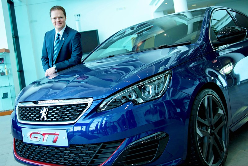 Peugeot UK managing director  David Peel
