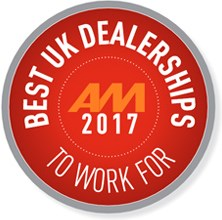 Best UK Dealerships To Work For 2017 logo