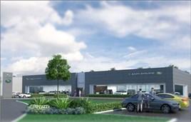 Artist's impression: Dick Lovett's planned JLR facility