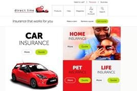 Direct LIne insurance website