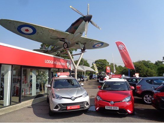 Mg franchise added to lodge hill garage in the shadow of for Top garage franchise