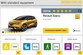 Euro NCAP, Renault Scenic