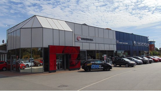 Evans Halshaw Opens First Joint Peugeot Vauxhall Car Dealership