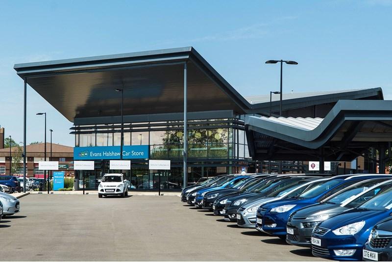 Pendragon Evans Halshaw Car Store