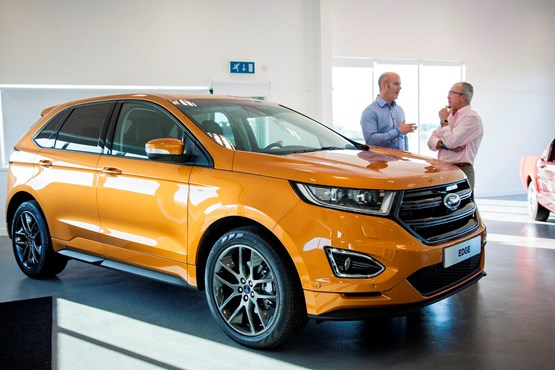 Ford Edge Suv Expected To Follow S Maxs Lead In Winning Conquest Customers For Dealers Car Manufacturer News