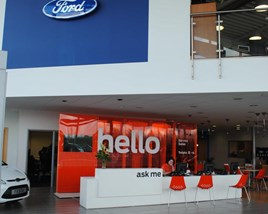 FordStore service reception