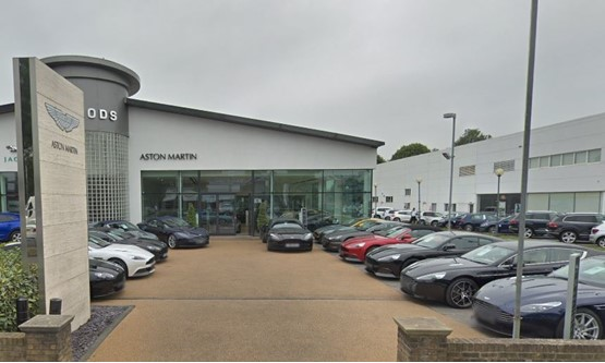 harwoods group acquires inchcape site for new aston martin