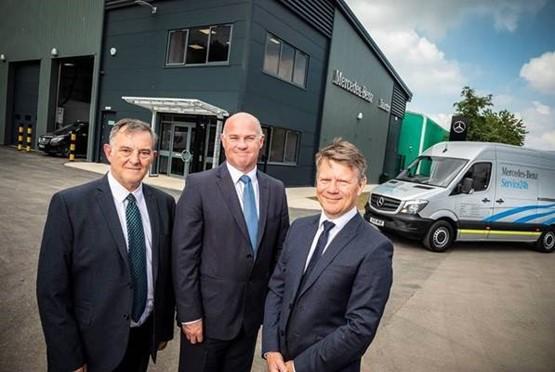 mercedes benz south west opens 1m taunton service centre aftersales