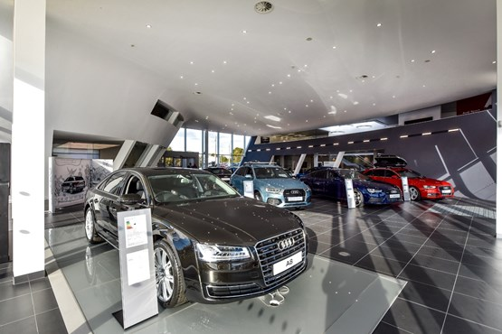 Audi Car Dealer Hull