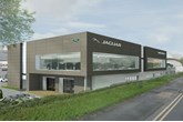 Artist's impression: Harwoods Group's proposed Brighton JLR showroom