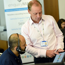 Jon Sheard, operations director for enquiryMAX