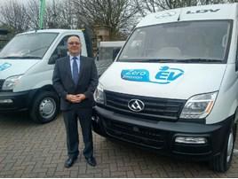 LDV UK dealer development manager Bill Laidlaw