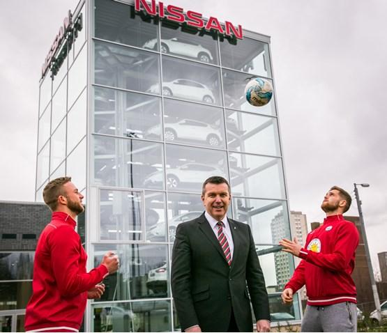 Macklin Motors Nissan Glasgow Scores Partick Thistle