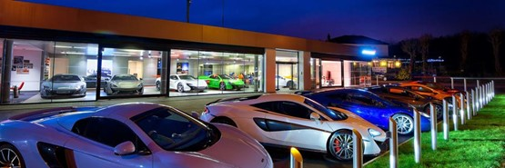 jardine motors group's mclaren ascot dealership named mclaren