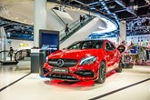 Mercedes-Benz pop-up store at the Bullring