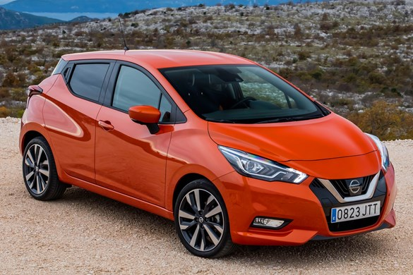 nissan micra europe only mk5 aims for b segment top 10 general. Black Bedroom Furniture Sets. Home Design Ideas