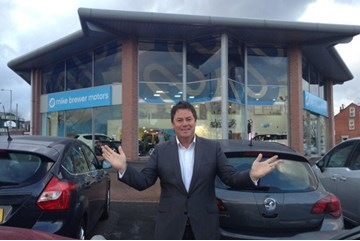 Mike Brewer pictured at the Sheffield used car operation