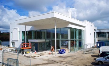 Ocean BMW's Falmouth site under development last summer