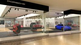 Jardine's Porsche pop-up store at Bluewater