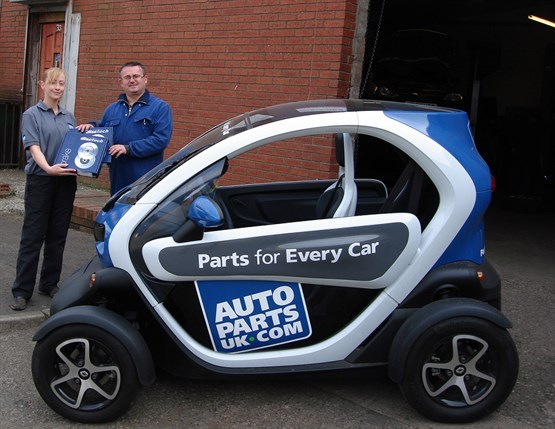 Autoparts Uk To Deliver Car Parts By Renault Twizy