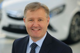 Rory Harvey, managing director, Vauxhall UK