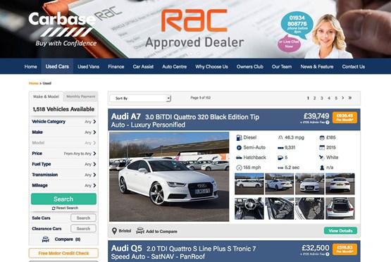 carbase website