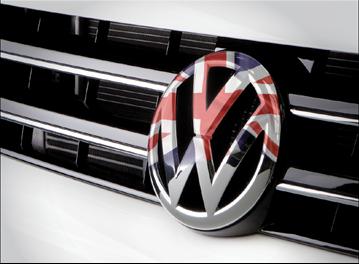 Volkswagen UK badge
