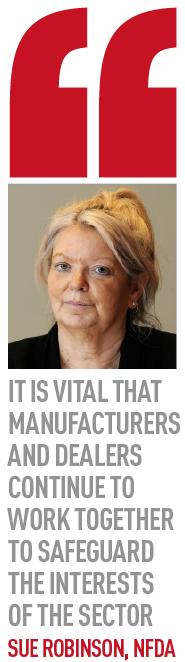 it is vital that Manufacturers and dealers continue to work together to safeguard the interests 