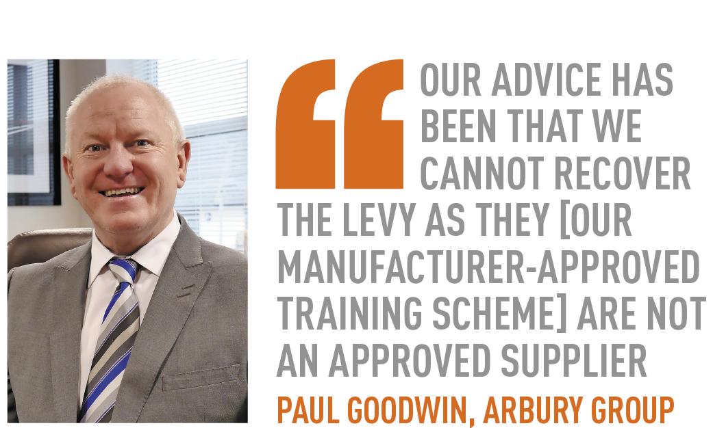 Paul goodwin, arbury group