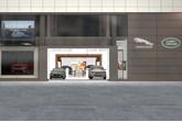 Artists' impression: Jaguar Land Rover's new Westfield Rockar store