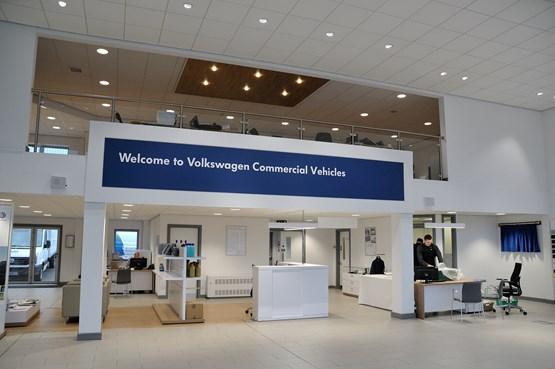 Snows Group Opens First Volkswagen Van Centre Car Dealer