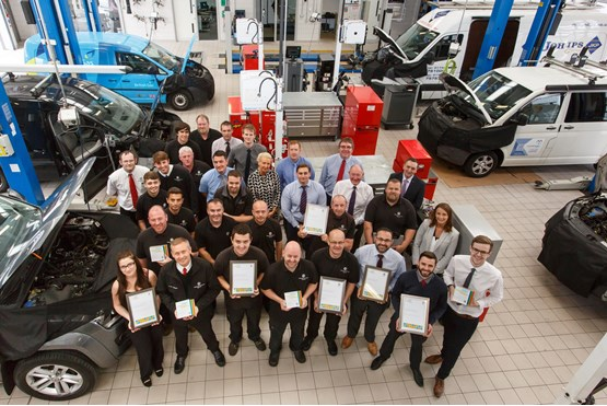 Swansway Garages Scoops Brace Of Volkswagen Awards Hat