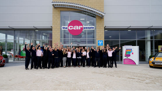 the car people officially opens 13m warrington site news. Black Bedroom Furniture Sets. Home Design Ideas