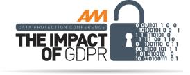 AM GDPR conference logo 2018