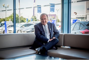 TrustFord chairman and chief executive officer Stuart Foulds