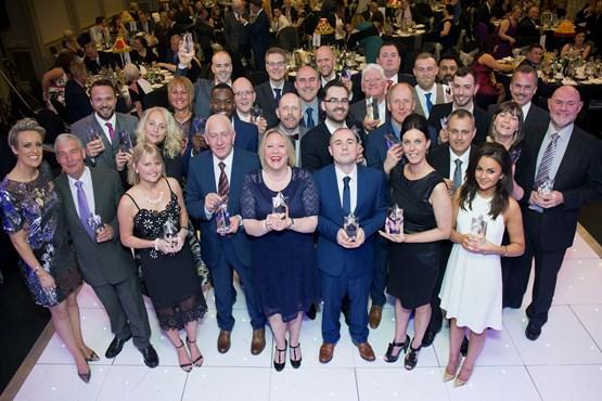 Vertu Motors celebrates 'hard working' staff at annual awards