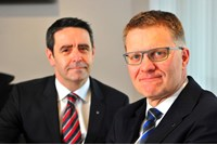 Robert Forrester and David Crane (L) Vertu Motors