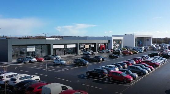 vospers opens 15m five brand car retail super site in. Black Bedroom Furniture Sets. Home Design Ideas