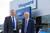 Nick Vosper and Peter Vosper outside Vospers Plymouth - AM dealer profile