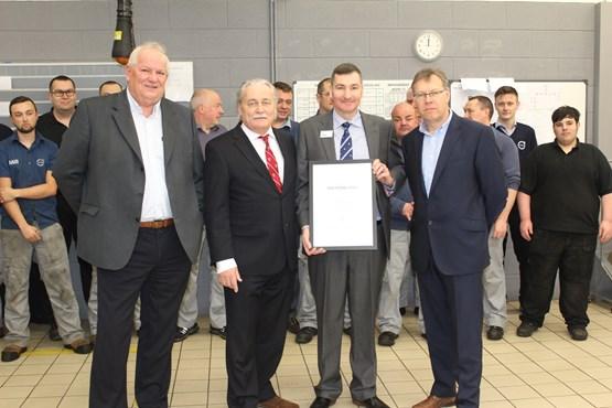 Mill Volvo Sunderland Lands Volvo Service Award Aftersales