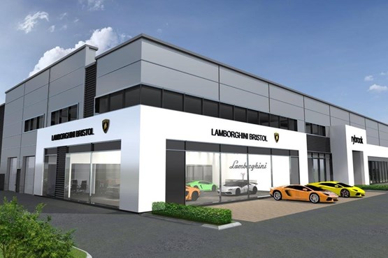 Rybrook holdings to open ultra premium four franchise for Bristol motor mile dealerships