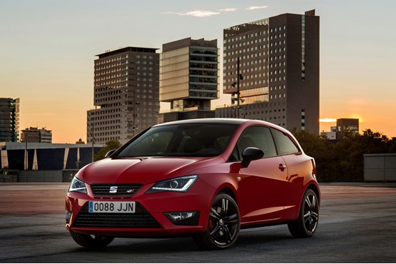 seat announces spec and prices of ibiza cupra car model news. Black Bedroom Furniture Sets. Home Design Ideas