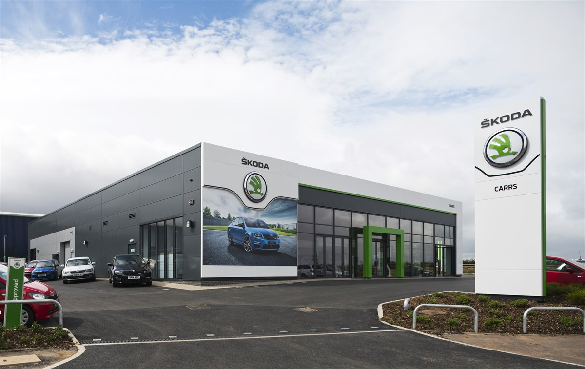 Latest Skoda Corporate Identity For New £1.5m Carrs